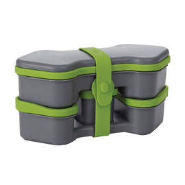 OXO - Bento Box/GrayxGreen
