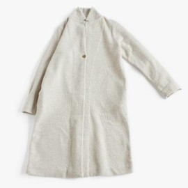 evam eva - press wool long coat