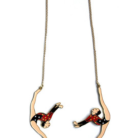 Red Brick - Circus Necklace
