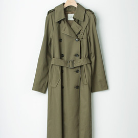 Adam et Rope - A/W13 Khaki Long Trench Coat