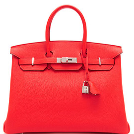 HERMES - 35Cm Capucine Togo Leather Birkin