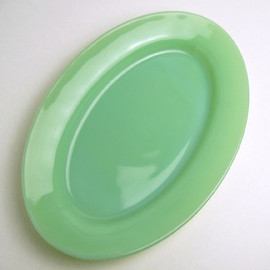Fire King - Jadeite 9 1/2-inch Oval Platter