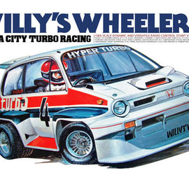 TAMIYA - CITY TURBO WILLY'S WHEELER