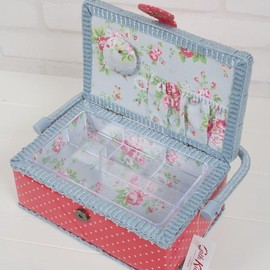 Cath Kidston - Sewing Basket Mini Dot