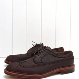 ALDEN - Kudu Horween Leather Long Wing Blucher