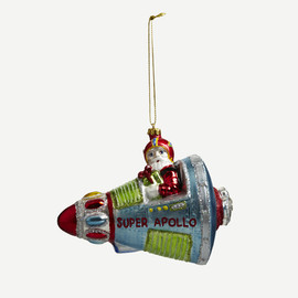 THE CONRAN SHOP - SANTA APOLLO SHIP DECORATION