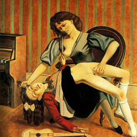 Balthus - The Guitar Lesson, 1934