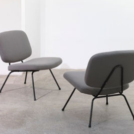 "Thonet - Lounge Chair ""CM190"" Designed by Pierre Paulin"