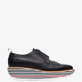 Thom Browne - black chunky sole shoes
