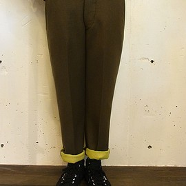 ARTS&SCIENCE - Military chinos