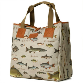 Barbour - Fish Print Bag