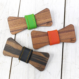 URBAN OLE ECO PARK - WOODEN BOW-TIE