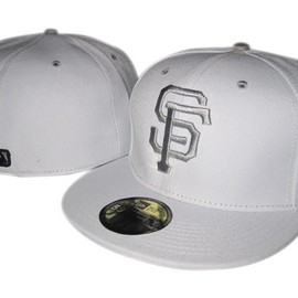 NEW ERA - San Francisco Giants (Gray on Gray) 59FIFTY