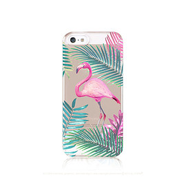 casesbycsera - Flamingo iPhone 6 Case Clear iPhone 5 Case Clear Flamingo iPhone 5 Case iPhone 6 Case