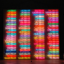 Bruce Nauman - 100 Live and Die