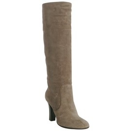 TOD'S - Tod's mud suede 'Jodie' tall boots at Bluefly