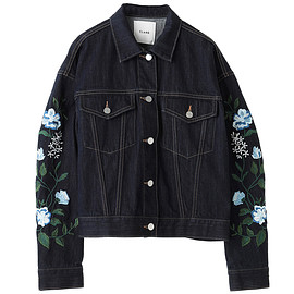 CLANE - EMBROIDERY FLOWER G JEAN