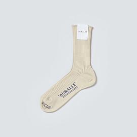 AURALEE - GIZA HIGH GAUGE SOX
