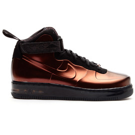 NIKE - NIKE AIR FORCE 1 FOAMPOSITE BHM QS, TOTAL ORANGE/TTL ORNG-PTR BRW