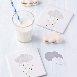 Cloud macarons!