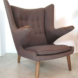 Hans Wegner - Dark Grey Teddy Bear Armchair