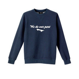 A.P.C. - 'We do our part' スウェットシャツ