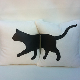 Design*Sponge - Cat Pillows