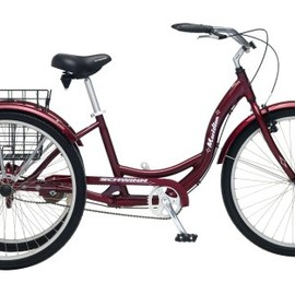Schwinn - Meridian Adult 26-Inch 3-Wheel Bike