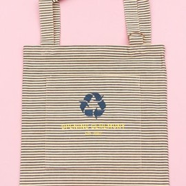 Opening Ceremony -  stripe tote bag
