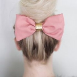 Dress up a bun with a bow!