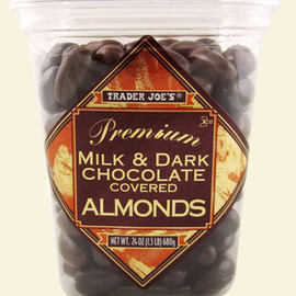 Trader Joe's - Milk & Dark Chocolate Almonds