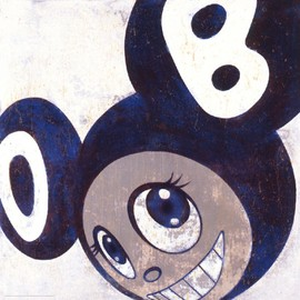 TAKASHI MURAKAMI - And then, and then and then (blue)