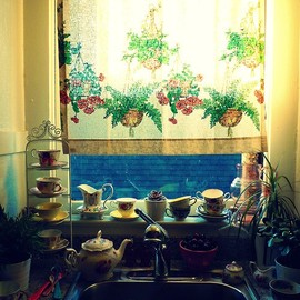 bohemianhomes:Kitchen window