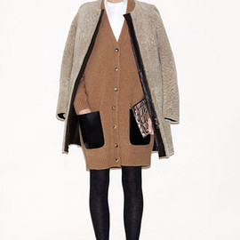 CELINE - 2010FW sheepskin coat