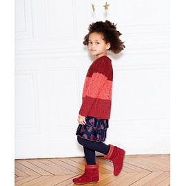 Little Marc Jacobs - Girls Pink Mohair Sweater