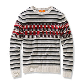 Joe Fresh - MEN'S MULTI-STRIPE SWEATER