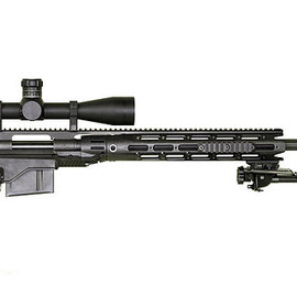 Remington Arms - XM2010 with dark earth suppressor