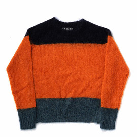 bal - KID MOHAIR TRICOLOR SWEATER