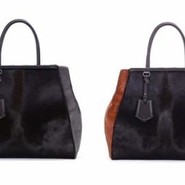 FENDI - Fendi fall winter 2012 bags Fall 2012 innovative and Modern Handbags from Fendi