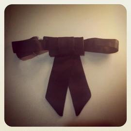 DIOR HOMME - 06A/W Ribbon Tie