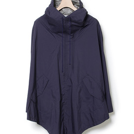 nonnative - HIKER PONCHO - NYLON MINI RIPSTOP WINDSTOPPER® 2L