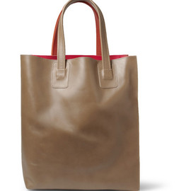 Marni - Panelled Leather Tote Bag