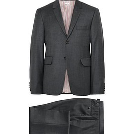 Thom Browne - Charcoal Wool Suit