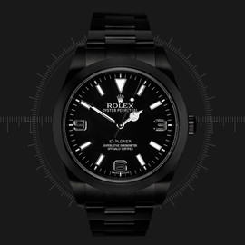 ROLEX - Project X BLACKOUT Rolex Explorer