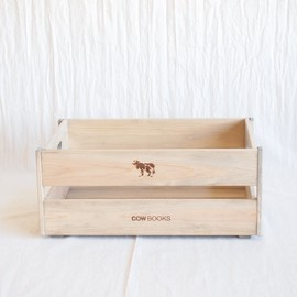 COW BOOKS - Wood Box Small Stacking