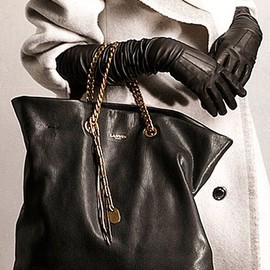 Lanvin - Pre-Fall 2014 handbag and gloves