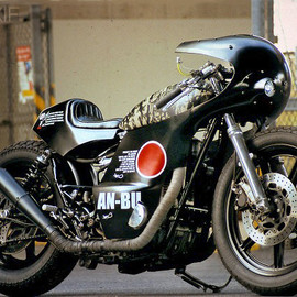 Yamaha - XS650 custom motorcycle