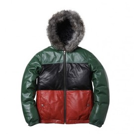 Supreme - Supreme Leather Down Jacket
