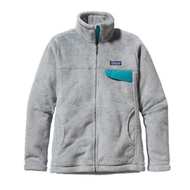 Patagonia - Women\'s Full-Zip Re-Tool Jacket - Tailored Grey - Nickel X-Dye w/Tobago Blue TNXB