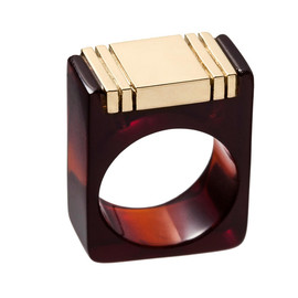 A.P.C. - APC Art Deco ring
